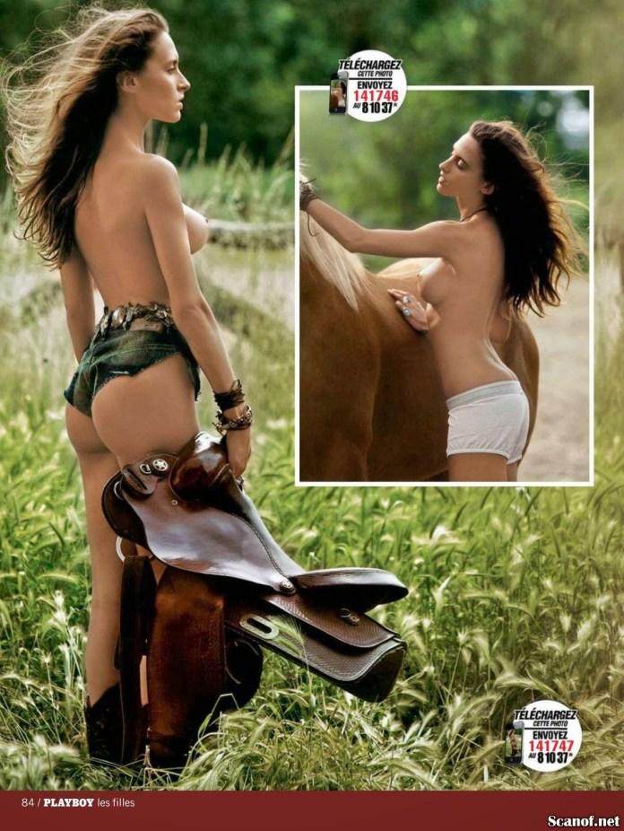 Gloria Patrizi  Les Filles de Playboy France Issue 113 [November-December 2013] (4)