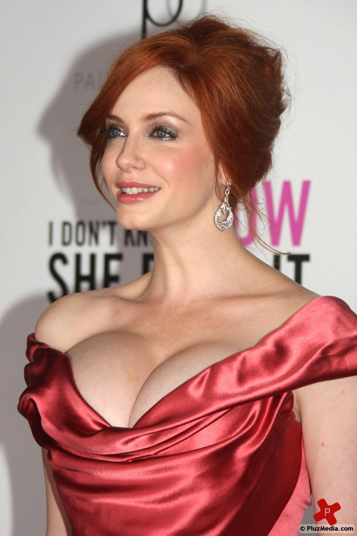 Christina Hendricks in New York premiere of I Dont Know How She Does It-dc0549ed742134b14619e175793bffc8