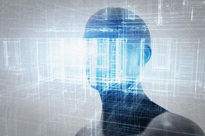 bigstock Virtual reality projection Hu 113930303
