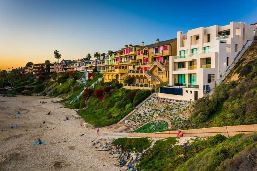 Corona Del Mar Homes - Beach Photo