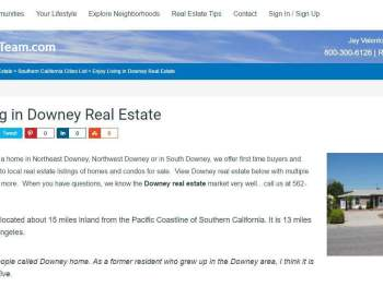 Downey Real Estate | Downey Homes