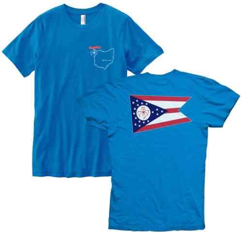 Red Wanting Blue Ohio Flag Shirt