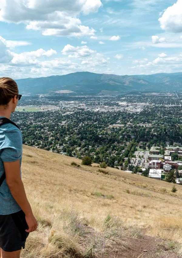 How to Hike Missoula's Iconic M Trail via  Mount Sentinel