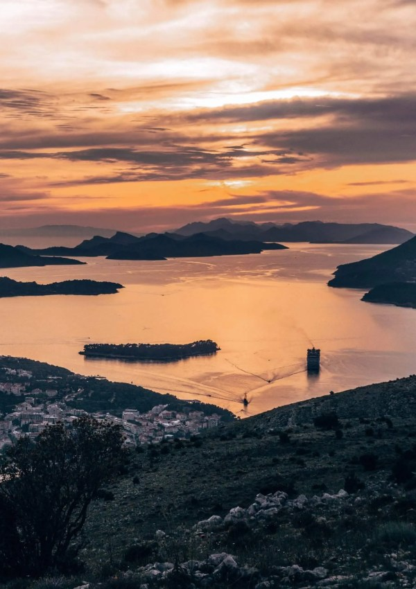 How to hike up Mt Srd Mountain Overlooking Dubrovnik