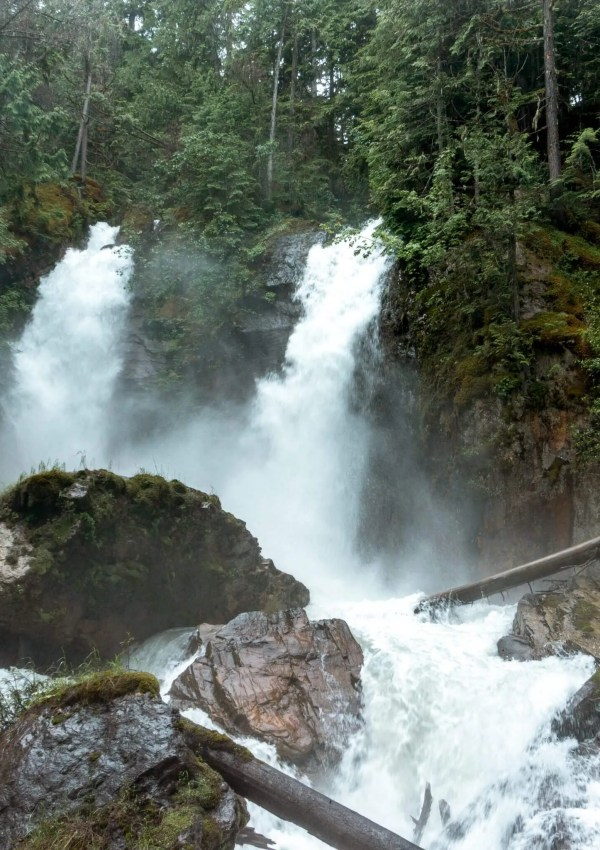 How to hike to Begbie Falls Near Revelstoke