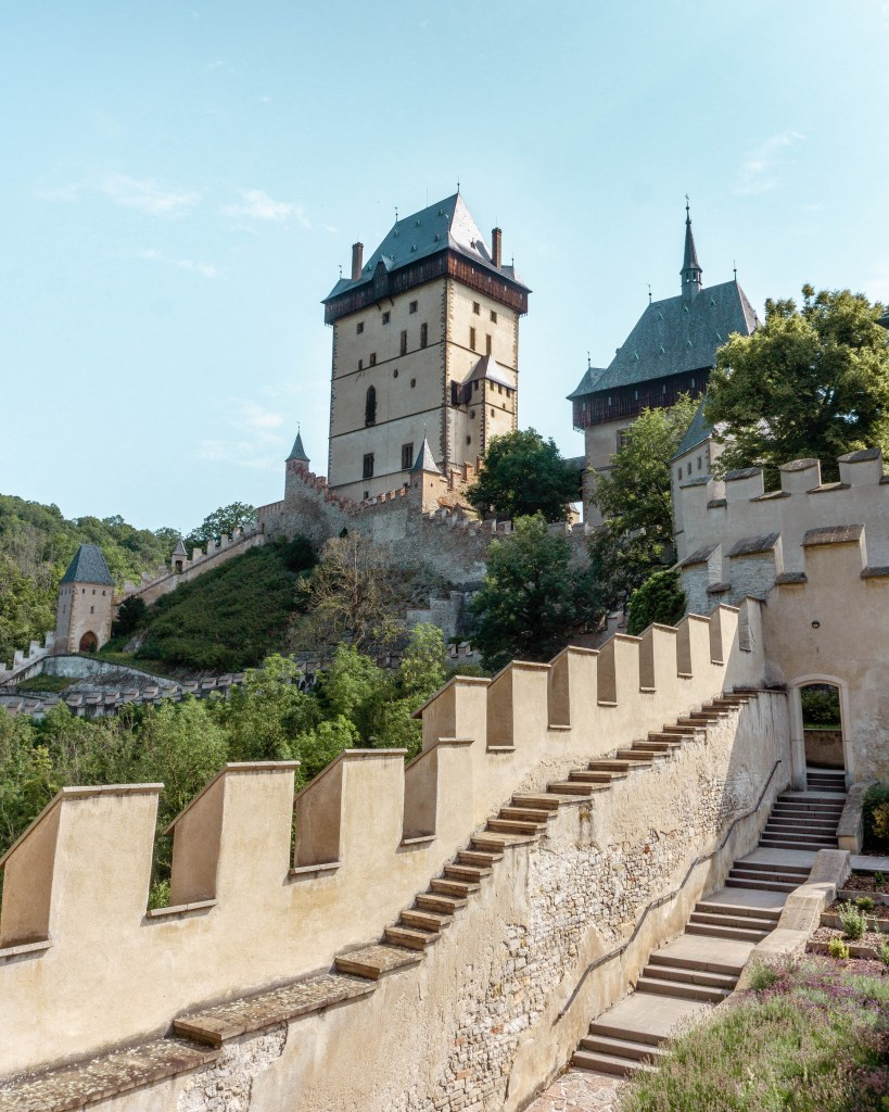 Karlstejn Castle is one of the most historic castles in the Czech Republic.