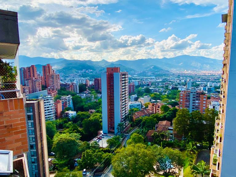Views of Medellin as a digital nomad!