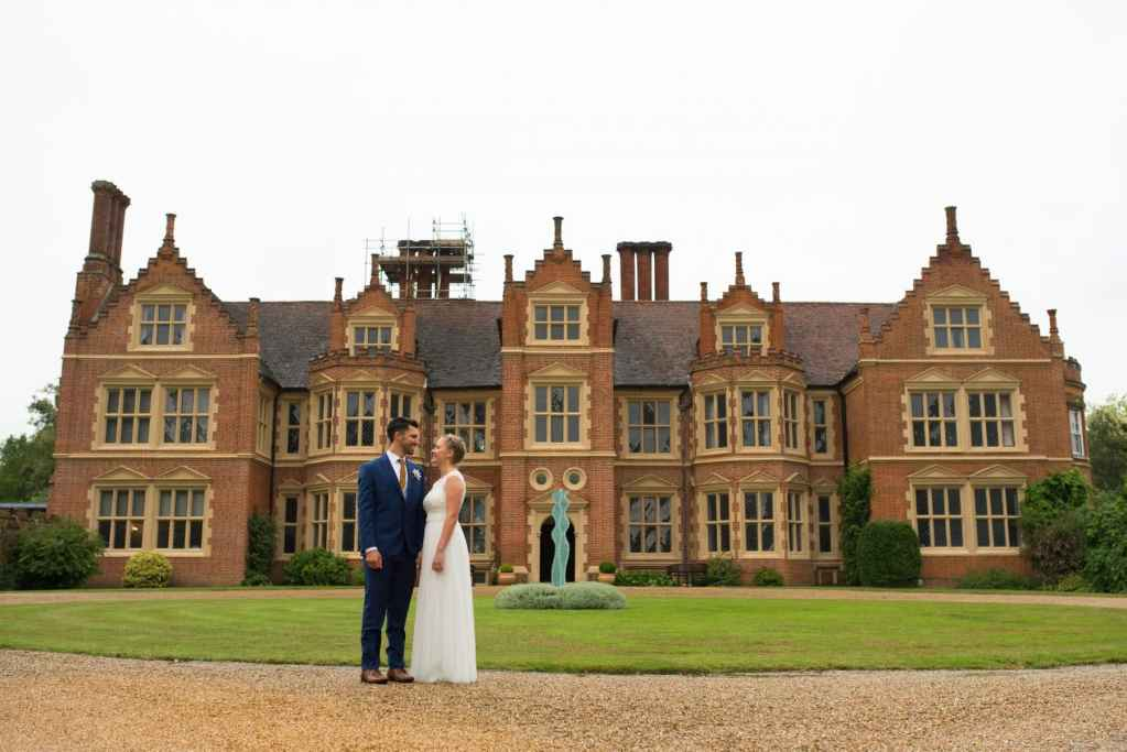 Haughley Park Barn wedding photography