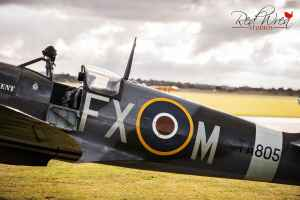 Spitfire at Duxford Imperial War Museum