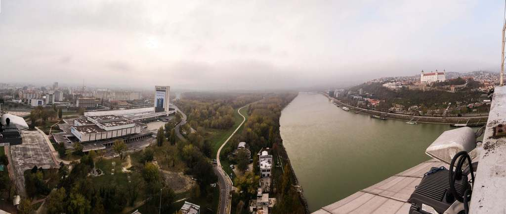 Bratislava City Break, UFO Tower bridge