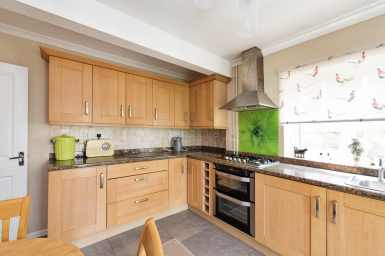 Professional photograph of kitchen
