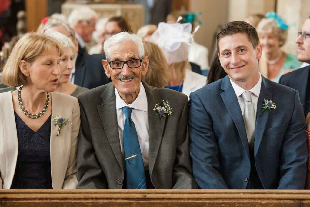 Suffolk wedding photography, taking in Bacton Church ceremony