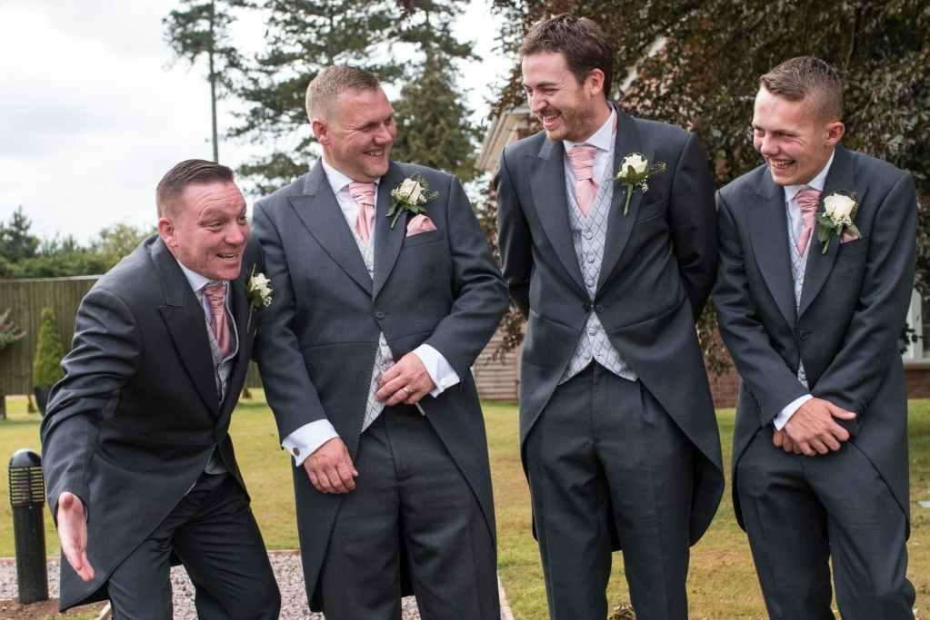 Groomsmen wedding photography at Kenwick Park Hotel, Lincolnshire