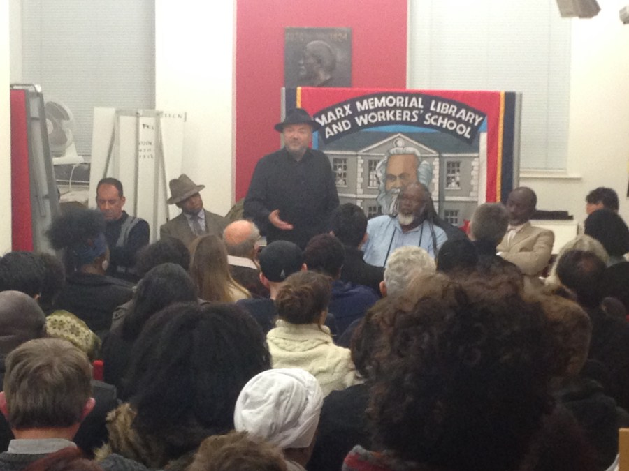 Robeson event at Marx Memorial Library
