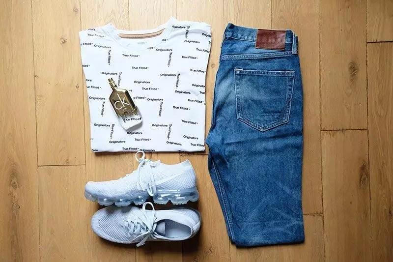 Nike Flyknit Vaqueros Blancos De Los Hombres Vapormax JnIQkorS
