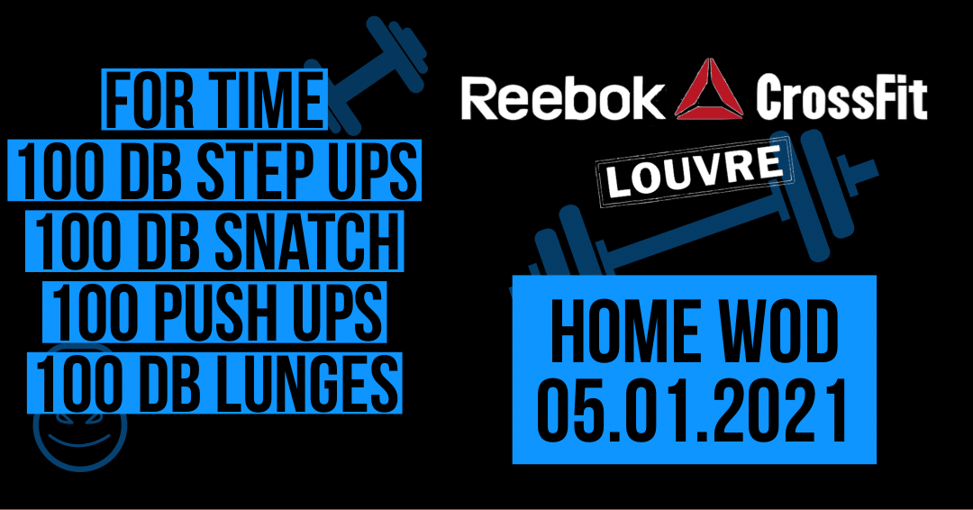 Push Up Lunges Snatch Step Up Chipper For Time Metcon