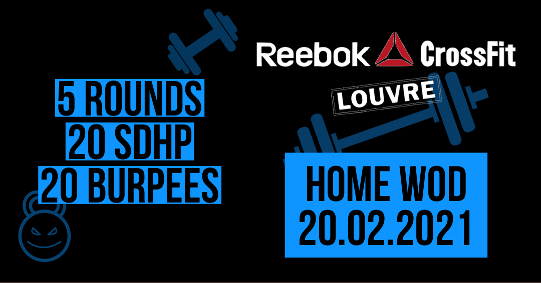 For Time SDHP Burpee