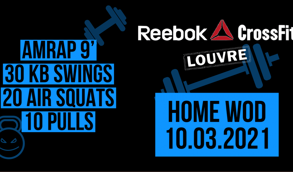 KB Swing Air Squat Pull AMRAP