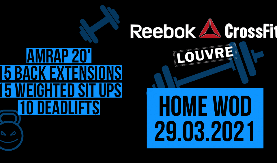 Back Extension Weighted sit up Deadlift AMRAP