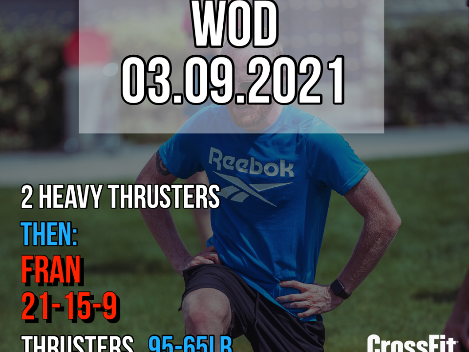 Thruster Pull Up Fran Benchmark For Time