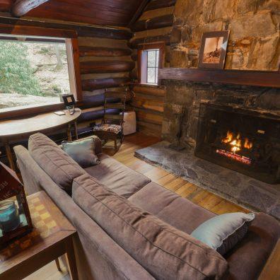 Reeb Ranch Cabin - Living Room 02