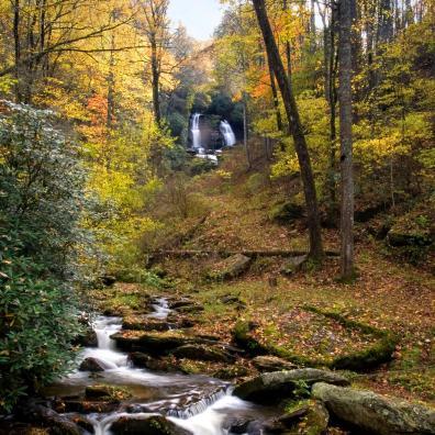 Shoal Falls and Creek Vertical