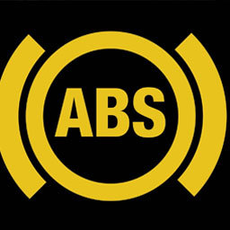 Reed switches in ABS control system