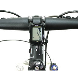 Reed switches in bicycle speedometer