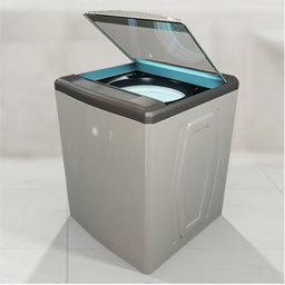 washing machine lid position sensing