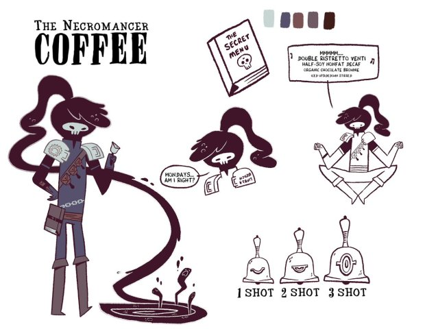Necromancer Coffee