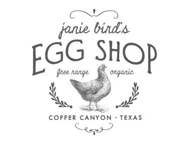 janie birds egg shop logo