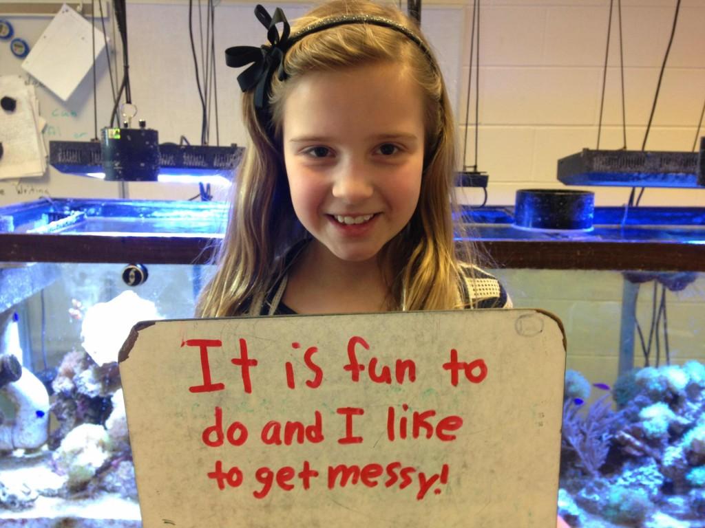 Reef Aquarium Keeping Helps Students Develop Scientific Skil