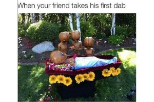 Alien's First Dab Meme