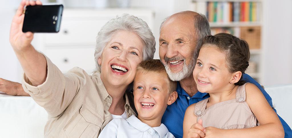 El amor de los abuelos por sus nietos