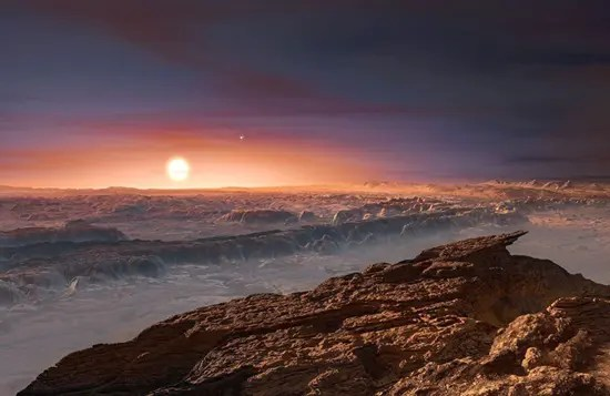 This is what artists think planet Proxima B could look like