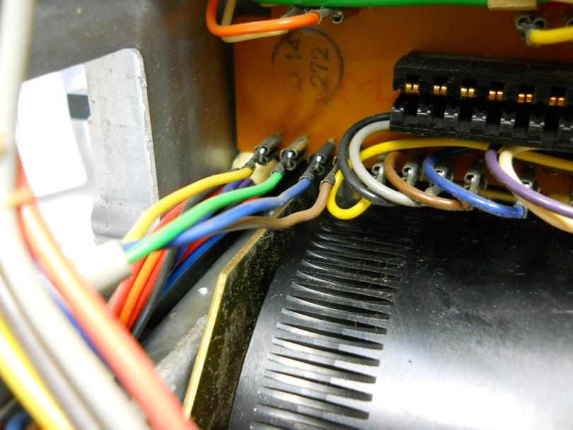 16 Revox A77 recap and overhaul pretty wire colours
