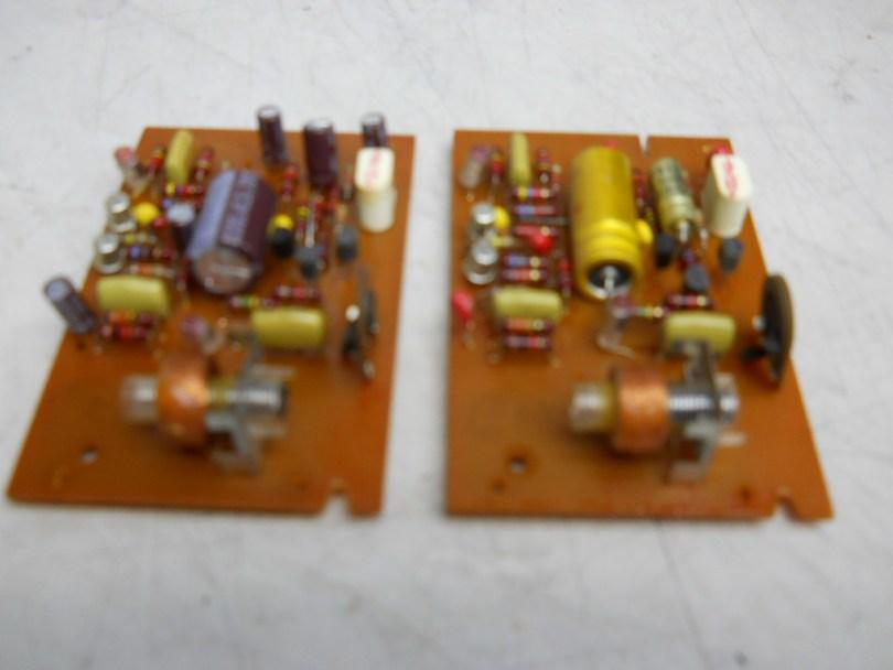 4 Revox A77 recap and overhaul circuit boards