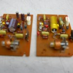 4 Revox A77 recap and overhaul circuit boards