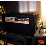 40-4 tascam series by TEAC tape head cover front view