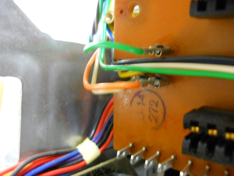 circuit board 272 with wires revox a77
