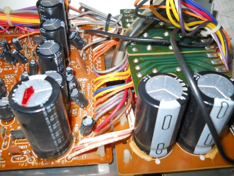 capacitors on teac Z7000 Master Cassette Deck