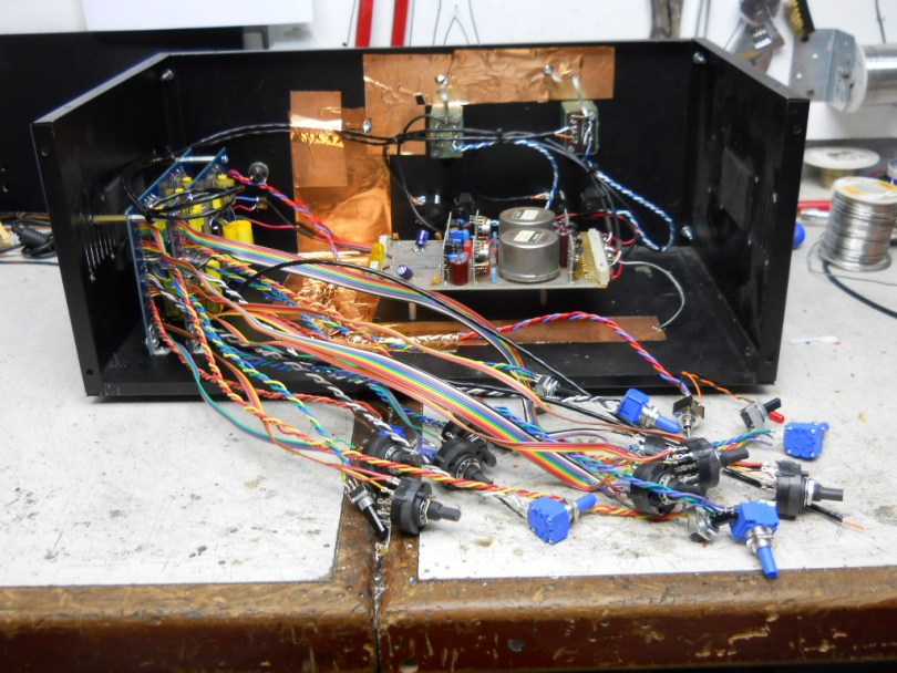 Passive Control Wiring on Pultec EQP-1a