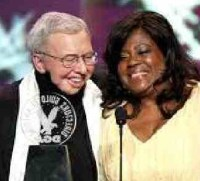 Chaz and the late Roger Ebert