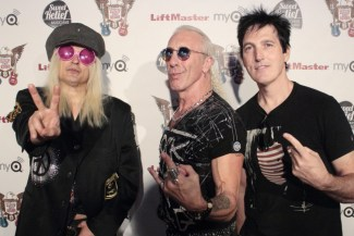The judges: Chip Z'Nuff, Dee Snider, Johnny K