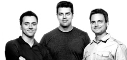 Leviathan partners Jason White, Matt Daly and Chad Hutson