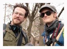 Director John Sutton and producer John Holcombe