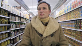 """Explorer """"Edwin Horsham"""" is determined to find his Claussen Pickles, in a scene from an 85-second video"""