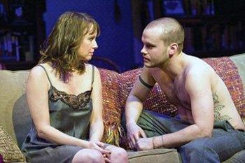 """Grush with Sally Murphy in a scene from """"Sex with Strangers"""""""