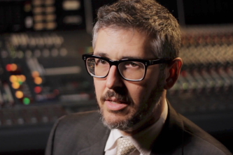 "Ira Glass in ""Somewhere Out There"""