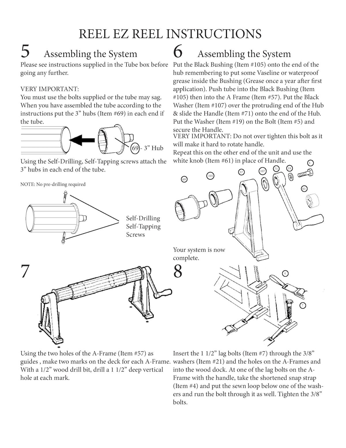 Boat Instruction Manual Owners Manual Book